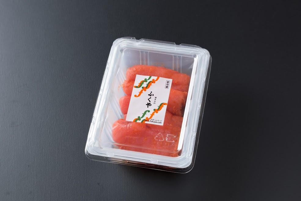 できたて「生」明太子 135g 980円(税込)